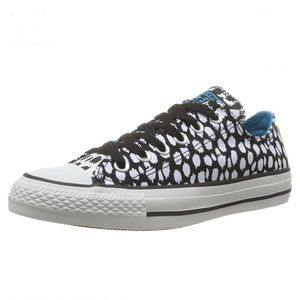 Converse All Star Ox Black White Spots Sneakers